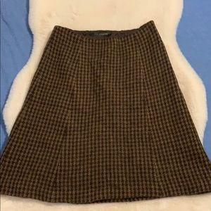 Sale! Lauren Ralph Lauren Houndstooth Skirt Size 4